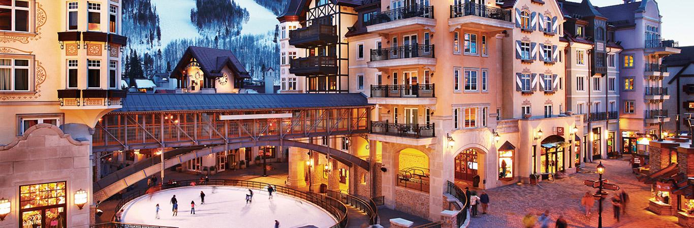 World class vail resort