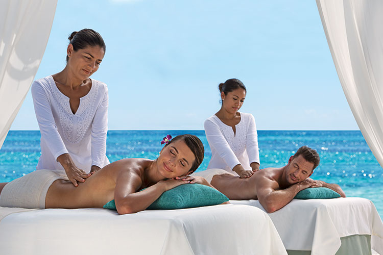 All inclusive resorts Mexico - spa treatments