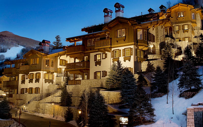 True Ski In Ski Out Vail Chalet, Colorado