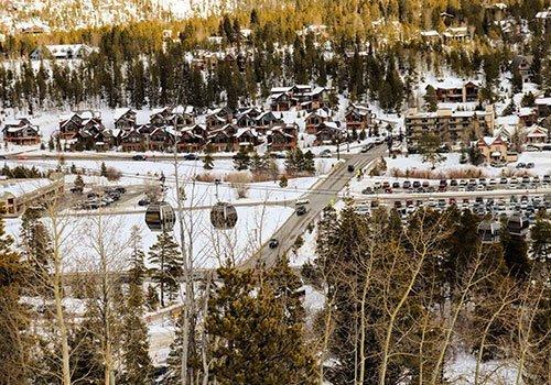 Breckenridge in winter