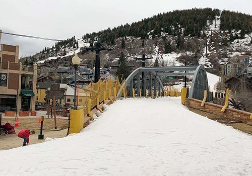 Park City in winter